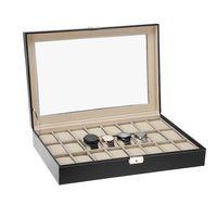 Cupón de descuento de 6 euros en la caja para relojes Uten: aplicándolo se queda en 23,99 euros en Amazon