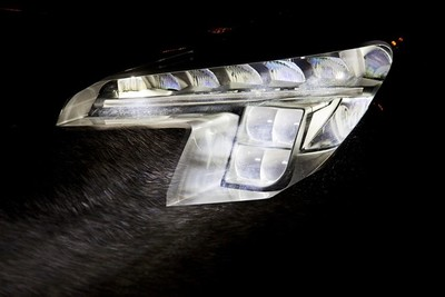 Led Matrix de Opel, usando las 'largas' por defecto