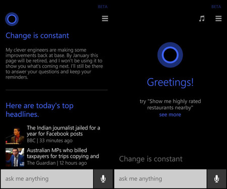 Cortana Windows Phone 8 1