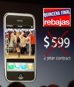 El precio del iPhone podría reducrise
