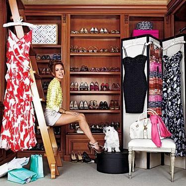 Los armarios de las celebridades