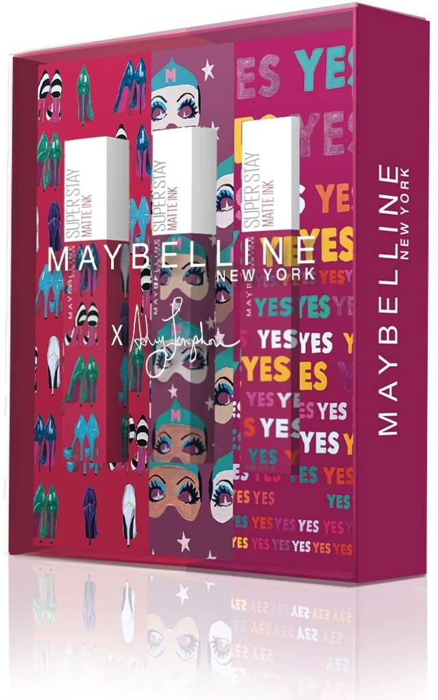 Maybelline New York - Cofre de 3 Pintalabios Superstay Matte Ink