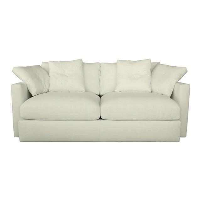 Sofá tapizado plus en algodón y lino de 2 plazas Quebec