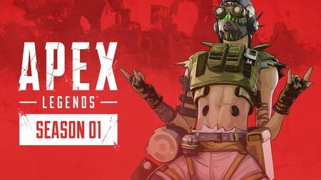 Llegan Wild Frontier y Octane a Apex Legends: la temporada 1, el Pase de Batalla y la leyenda aterrizan el 19 de marzo