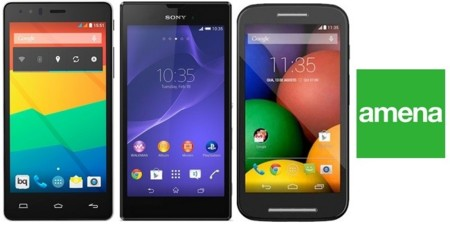 Precios Sony Xperia T3, Motorola Moto E y BQ Aquaris E5 HD con Amena