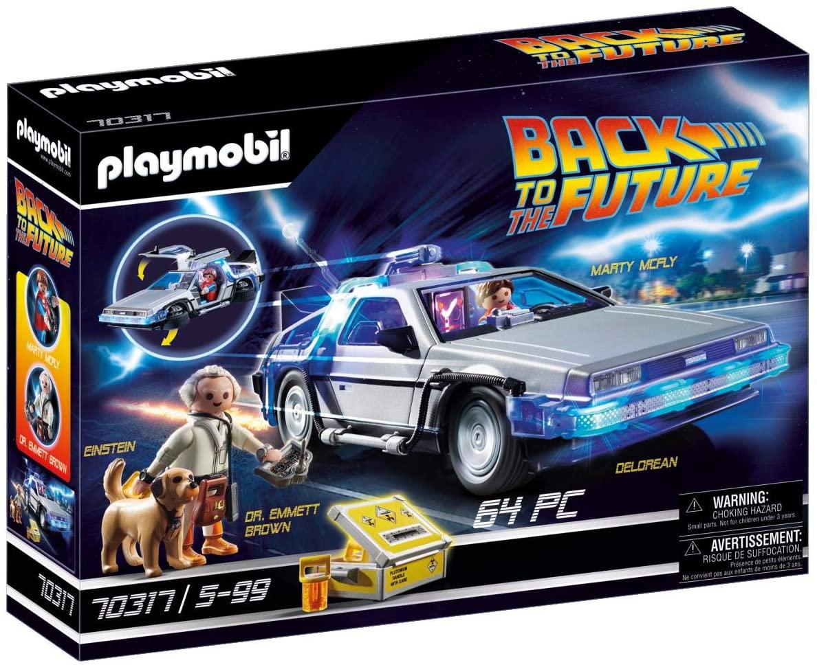Playmobil Volver al Futuro - Delorean