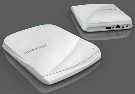 Samsung Smart Hub SE-208BW: router con DLNA que graba DVD's