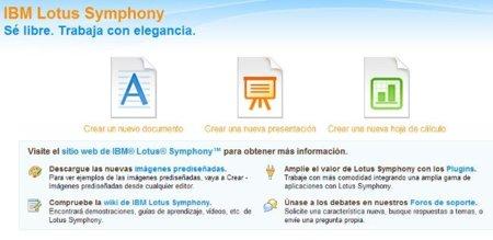 Lotus Symphony 3.0 saca su tercera beta