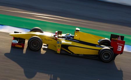 Marcus Ericsson marca el mejor tiempo en las pruebas de la GP2 en Jerez y Dani Juncadella rueda con Rapax
