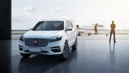 Borgward quiere afianzarse fuera de Occidente con el SUV BX6 y el primer coche eléctrico de la firma: el BXi7