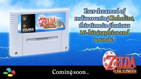 Un grupo de aficionados está recreando The Legend of Zelda: Link's Awakening con los gráficos de A Link to the Past