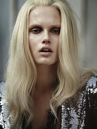 Giedre Dukauskaite, maquillaje que asusta