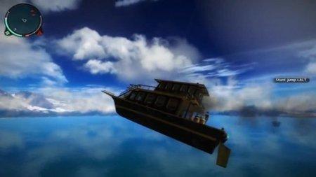 'Just Cause 2'. ¿Quién dijo que los barcos no podían volar?