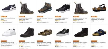 Ofertas del día en la sección de calzado