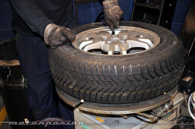 Prueba neumáticos invierno