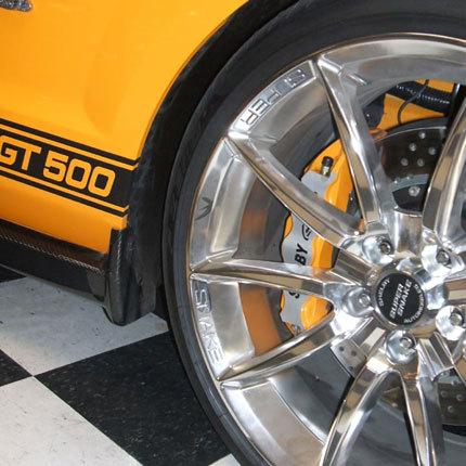 Shelby Mustang GT500 Super Snake Grabber Orange