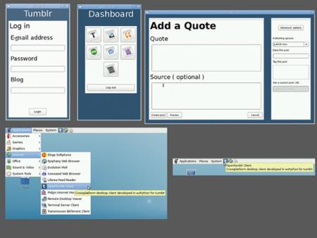 OpenTumblr, cliente multiplataforma para Tumblr