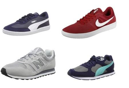 Chollos en tallas sueltas de zapatillas New Balance, Nike y Puma en Amazon