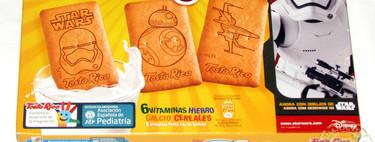 Comerte esas galletas Dinosaurus no es muy buena idea, aunque lleven el sello de la Asociación Española de Pediatría