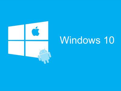 Microsoft quiere cerca a Android y iOS en Windows 10