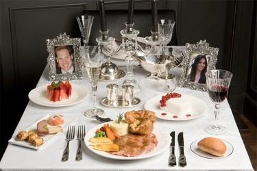 El menú de la boda real se puede degustar en Madrid