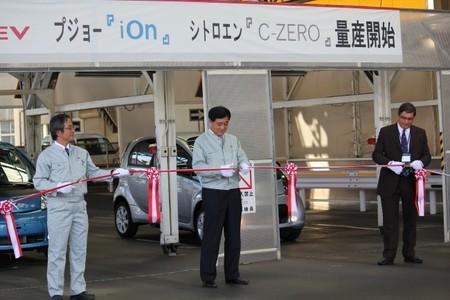 PSA Peugeot Citroën duda sobre seguir fabricando trillizos eléctricos en colaboración con Mitsubishi