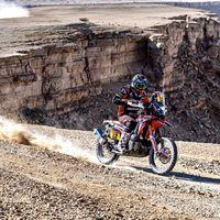 Joan Barreda consigue su primera victoria de etapa en el Dakar 2020 pero Ricky Brabec sigue firme