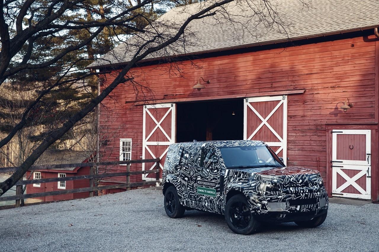 Foto de Land Rover Defender 2020 primeras fotos oficiales (11/24)