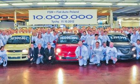 Diez millones de coches fabricados en Fiat Polonia