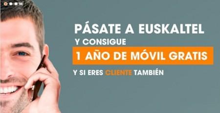 Euskaltel se apunta a regalar líneas móviles pero a cambio de contratar nuevos servicios