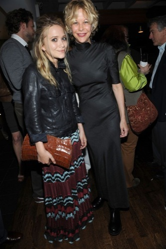 El estilo grunge por Mary-Kate y Ashley Olsen, tendencia 2009 XI