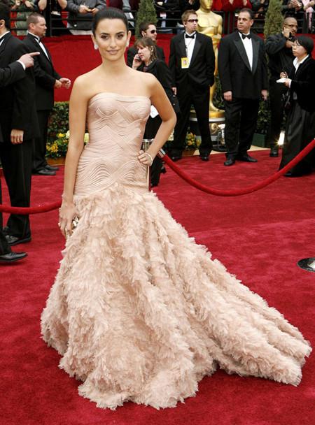 Penélope Cruz de Versace