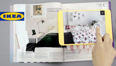 El catálogo IKEA 2013 y la realidad aumentada se dan la mano en tu iPad