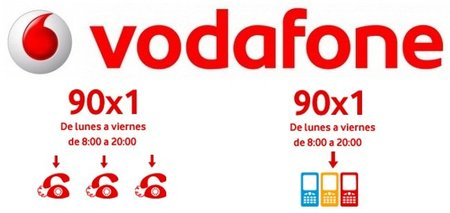 Vodafone lanza las tarifas 90 x 1 para autónomos y empresas