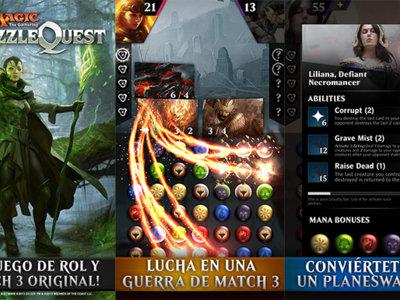 Magic: Puzzle Quest, el nuevo juego 'match 3' con batallas de cartas de Magic: The Gathering