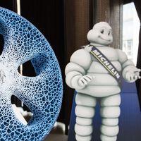 En Michelin sueñan con una rueda sin aire impresa en 3D a partir de materiales biodegradables
