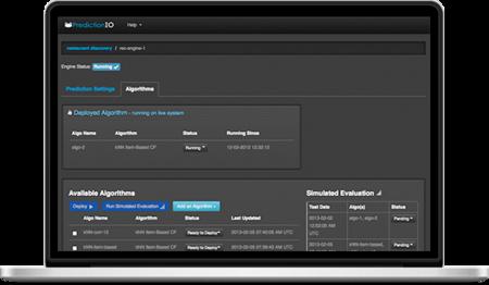 PredictionIO, construye un sistema de recomendaciones usando machine learning de forma sencilla