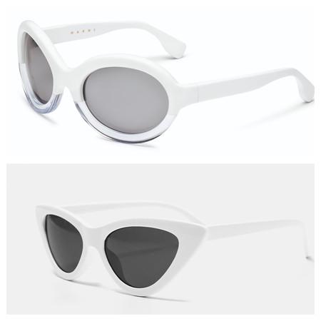 Gafas Pasta Blanca