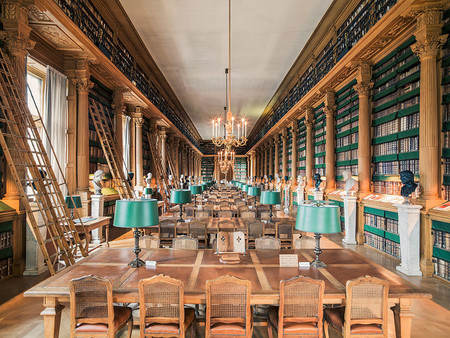 Bibliotheque Mazarine Paris France