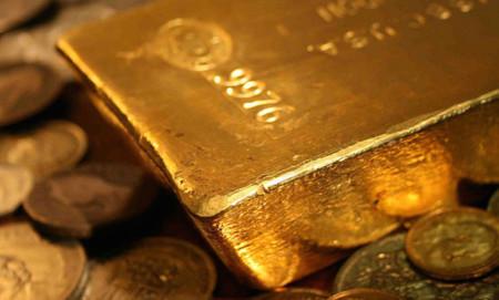 El recto para transportar oro