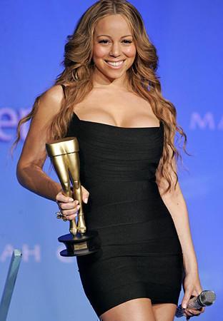 Mariah Carey premiada por sus piernas