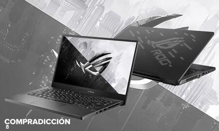 ASUS ROG Zephyrus G14 GA401II-HE004: este potente portátil gaming vuelve a estar en oferta en Amazon por 1.099 euros