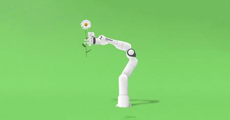 Este brazo robótico promete trabajar codo con codo con seres humanos, sin riesgos, a un precio moderado