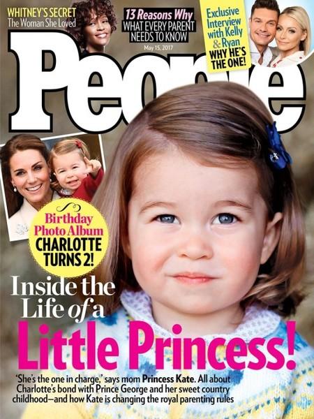 Una monería la pequeña Charlotte