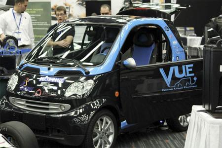 Projet VUE, el prototipo universitario de Smart eléctrico