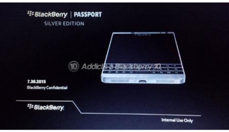 Dallas sería la sucesora de la BlackBerry Passport y vendría en edición plata