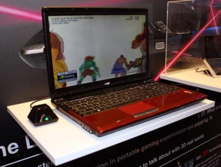 MSI se suma a la apuesta del 3D en los portátiles