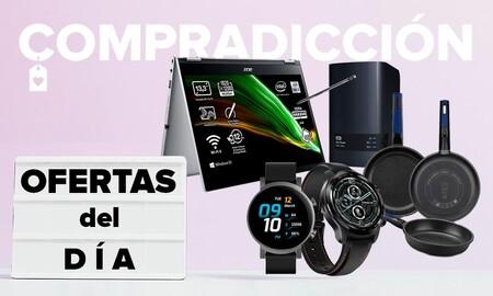 Ofertas del día en Amazon: almacenamiento Western Digital, portátiles Acer, relojes TicWatch o menaje Bra a precios rebajados