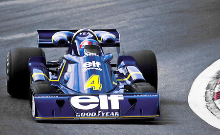 Patrick Depailler Tyrrell P34 Jarama 1976