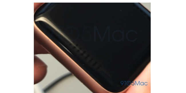 Apple Watch Display Edge Stripes Issue